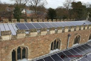 The Church Solar Panels