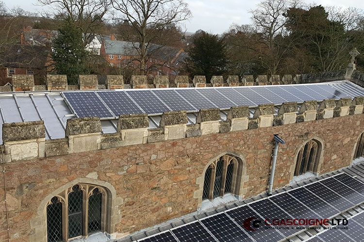 The Church Solar Panels